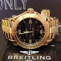 Breitling Emergency Zuto zlato Crn Arapski brojevi
