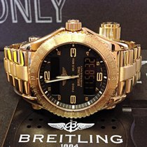 Breitling Emergency K56121.1 Yellow Gold - Box & Papers 2004