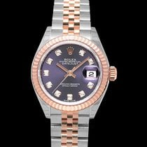 Rolex Rose gold Automatic Purple new Lady-Datejust