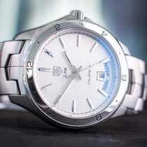 TAG Heuer Link Calibre 5 Steel 47mm White