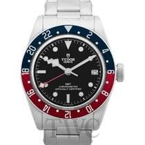 튜더 Black Bay GMT 신규 자동 시계 및 정품 박스와 서류 원본 79830RB-0001