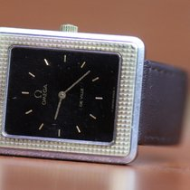 Omega Vintage Mens Omega 8423 DeVille Cal 625 Two Tone Watch...