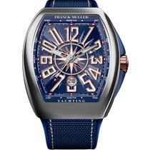 Franck Muller 53.7mm Automatic new Vanguard Blue