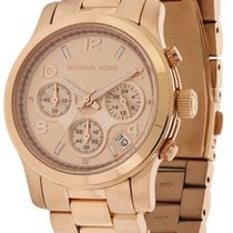 Michael Kors Chronograph 38mm Quartz new Gold