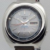 Seiko Steel 41mm Automatic 7019-6020 / 813555 pre-owned