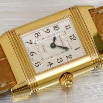 Jaeger-LeCoultre Reverso Duetto Gelbgold 32,90mm Silber Arabisch Schweiz, Geneve