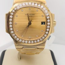 Patek Philippe Yellow gold Automatic 37mm pre-owned Nautilus