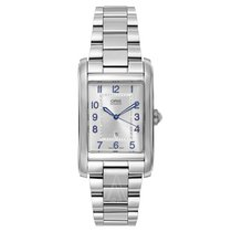Oris Rectangular Steel 44mm Silver Arabic numerals United States of America, Florida, Sarasota