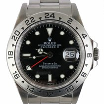 Rolex Explorer II Steel 40mm Black United States of America, New York, Smithtown