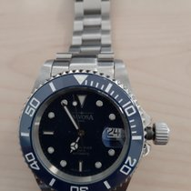 Davosa Ternos Automatic Steel 40mm Blue No numerals