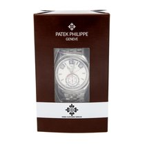 Patek Philippe Annual Calendar Chronograph Steel 40.5mm Silver No numerals