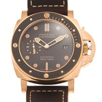 Panerai Bronze Automatic Brown 47mm new Luminor Submersible