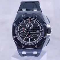 오드마피게 카본 자동 검정색 숫자없음 44mm 중고시계 로열오크 오프쇼어 크로노그래프