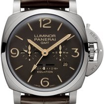 Panerai Luminor 1950 8 Days GMT new 2019 Manual winding Watch with original box and original papers PAM 00656