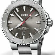 Oris Aquis Date Steel 43.5mm Grey United States of America, New Jersey, Cherry Hill