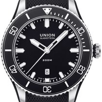 Union Glashütte Steel 45mm Automatic D009.907.27.057.00 new
