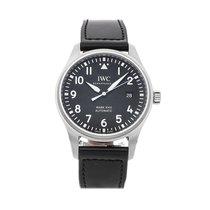 IWC Pilot Mark Steel 40mm Black Arabic numerals United States of America, Pennsylvania, Bala Cynwyd