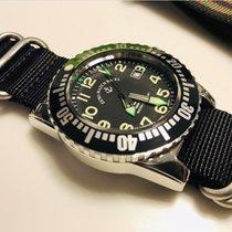Zeno-Watch Basel Aço 45mm Automático 6349-2824 usado