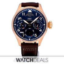 IWC Big Pilot Or rose Bleu