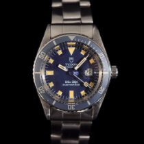 Tudor Submariner Steel 31mm Blue No numerals