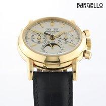 Patek Philippe Perpetual Calendar Chronograph 3970 Sehr gut Gelbgold 36mm Handaufzug Österreich, Baden bei Wien