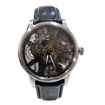 Maurice Lacroix Masterpiece Squelette Steel 43mm Transparent
