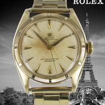 Rolex Oro amarillo Automático Plata Sin cifras 35mm usados Bubble Back