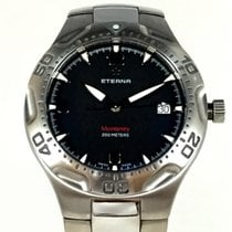 Eterna 40mm Quartz pre-owned Black