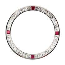 Rolex Daytona Baguette Cut Diamonds and Red Ruby Precious...