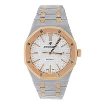 Audemars Piguet AP Royal Oak 37mm Steel & Rose Gold Watch