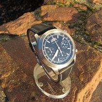 Union Glashütte Fliegerchronograph Actros Mercedes-Benz streng...