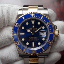 Rolex 40mm Automatik 2018 neu Submariner Date Blau