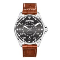 Hamilton Khaki Pilot Day Date H64615585 nouveau