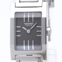 Hermès Tandem Stainless Steel Quartz Ladies Watch Ta1.210...
