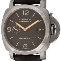 Panerai : Luminor 1950  3 Days :  PAM 351 :  Titanium automati...