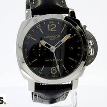 Panerai Luminor 1950 3 Days GMT Automatic Acero 44mm Negro