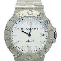 Bulgari Automatic Lcv 38 S White Unisex Stainless Steel Watch