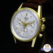 TAG Heuer Carrera Re-Edition 1964 Heuer 18 K Yellow Gold 3140