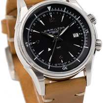 Hamilton Jazzmaster Traveler GMT H326150 - 42mm SS Automatic...