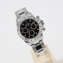 Rolex Daytona Stahl black dial LC 325 top condition box and...
