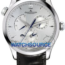 Jaeger-LeCoultre Master Geographic Steel 39mm Silver Arabic numerals