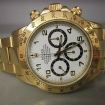 Rolex Daytona 16528 18k Vintage Cosmograph With White Dial....