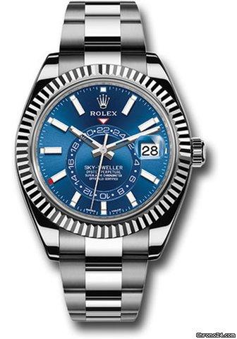 Rolex Sky,Dweller Blue Dial