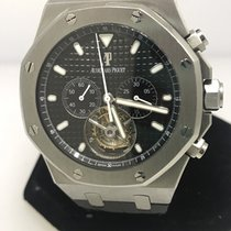 Audemars Piguet Royal Oak Tourbillon Chronograph Mens Watch...