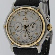 Ebel Chronograaf 40.00mm Automatisch 2000 tweedehands Le Modulor Zilver