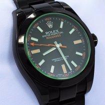 Rolex Milgauss Ocel 40mm Černá