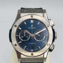 Hublot Classic Fusion Chronograph Tytan 42mm Niebieski Bez cyfr Polska, Czestochowa