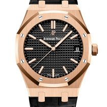 Audemars Piguet 15500OR.OO.D002CR.01 Rose gold 2019 Royal Oak Selfwinding 41mm new