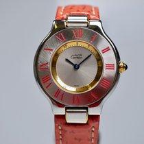 Cartier 21 Must de Cartier Stahl 30mm Silber Römisch Deutschland, Frankfurt