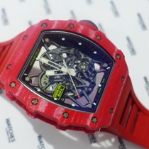 Richard Mille Carbon 49.9mm Automatic RM35-02 FQ pre-owned